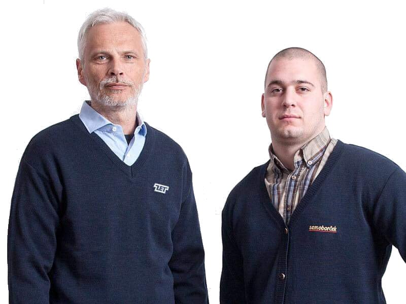 Pleteni puloveri za djelatnike tvrtki